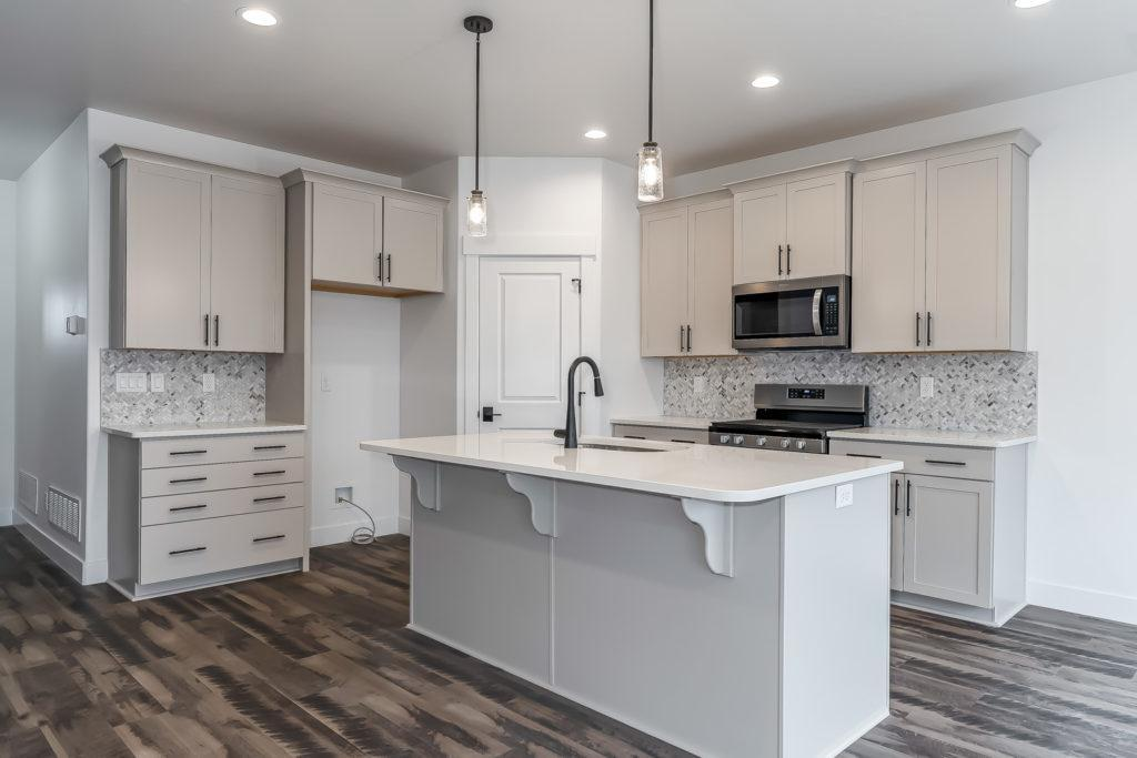 Kitchen featured in The Moran By Fieldstone Homes in South East Idaho, ID
