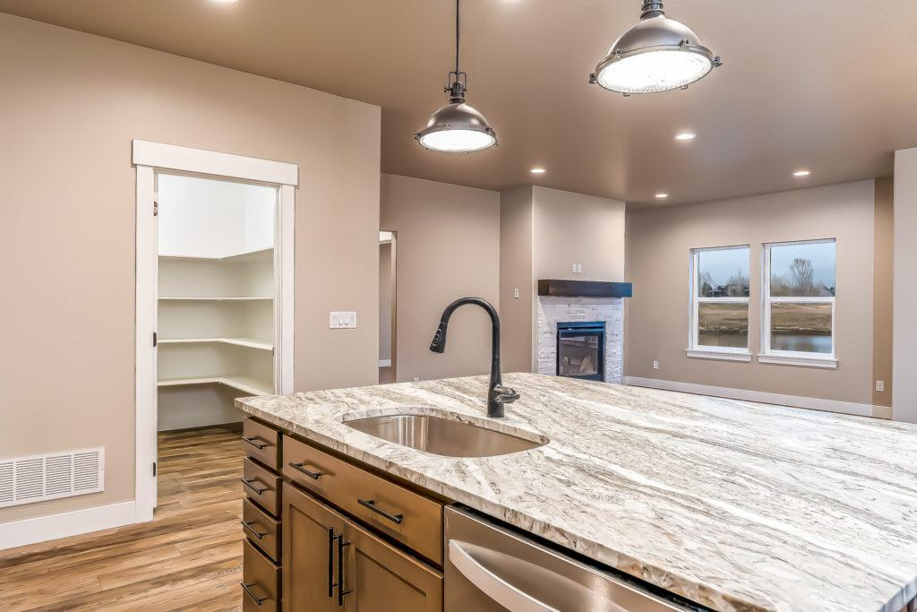 Kitchen featured in The Traverse By Fieldstone Homes in South East Idaho, ID