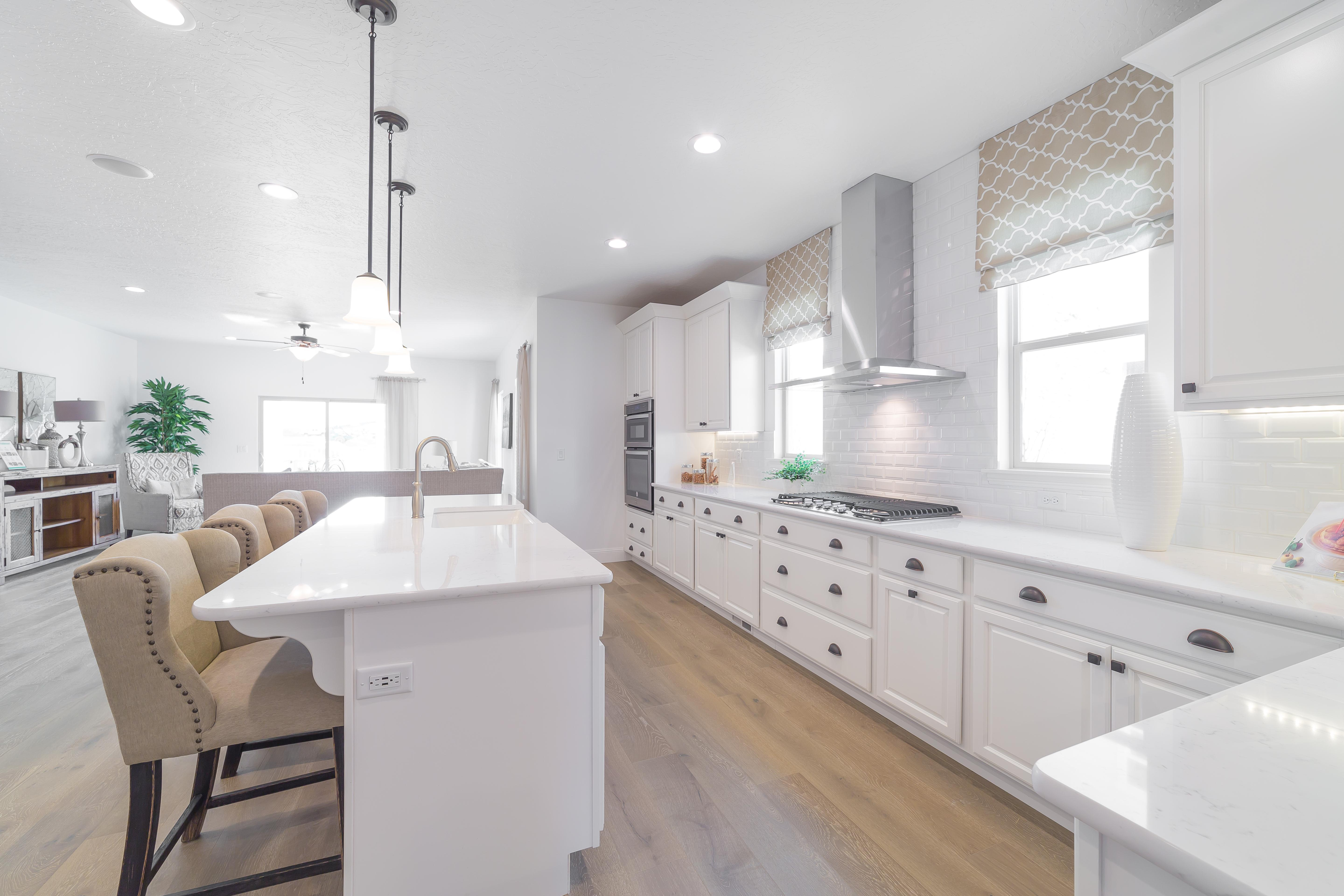 Kitchen featured in The Heritage - Arts and Crafts By Fieldstone Homes in Salt Lake City-Ogden, UT