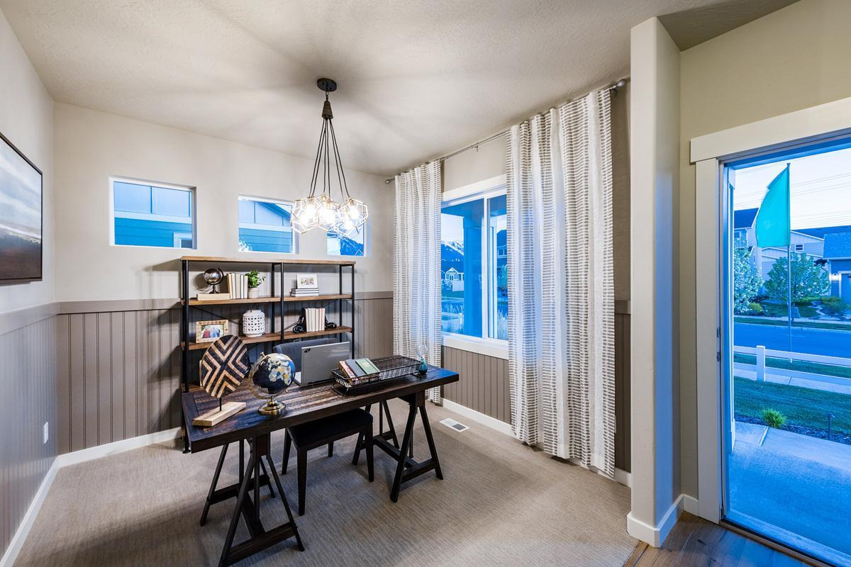 Living Area featured in The Sierra By Fieldstone Homes in Provo-Orem, UT