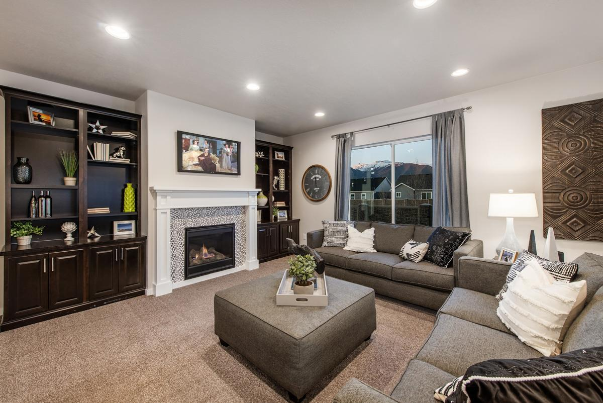 Living Area featured in The Oakley By Fieldstone Homes in Provo-Orem, UT