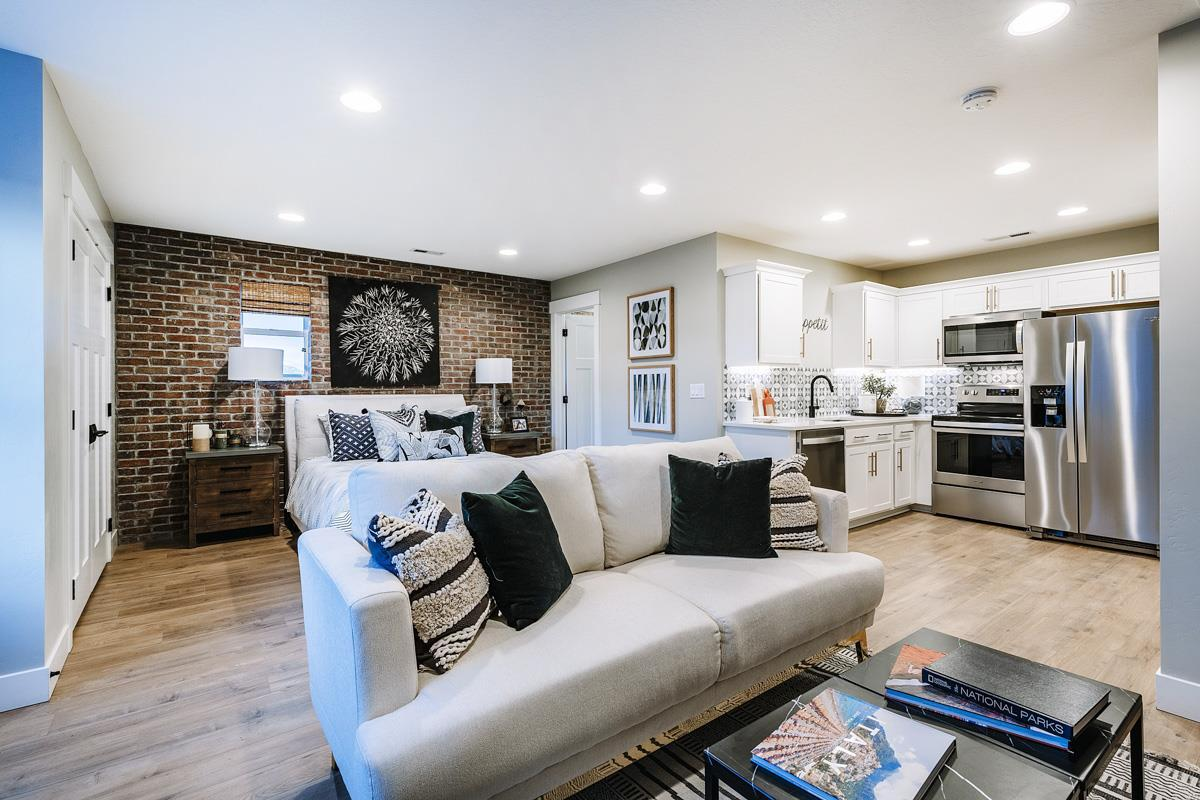 Living Area featured in The Coventry - Arts and Crafts By Fieldstone Homes
