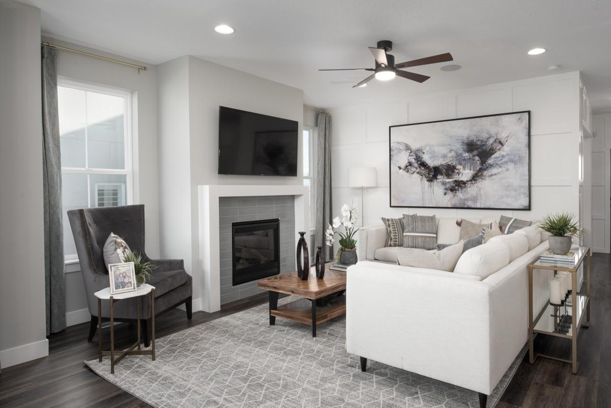 Living Area featured in The Cambridge By Fieldstone Homes in Salt Lake City-Ogden, UT