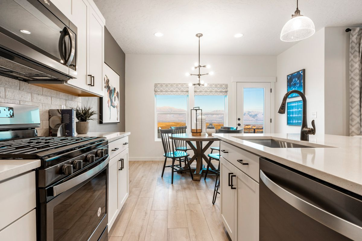 Kitchen featured in The Sunrise By Fieldstone Homes in Provo-Orem, UT
