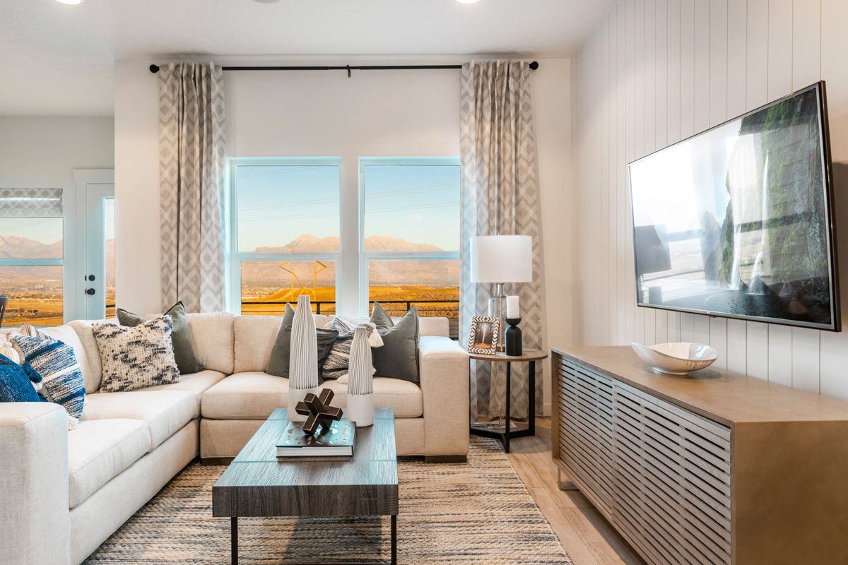 Living Area featured in The Sunrise By Fieldstone Homes in Provo-Orem, UT