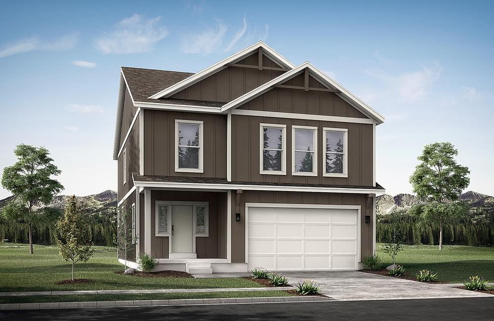 Exterior featured in the Sweetwater By Fieldstone Homes in Provo-Orem, UT
