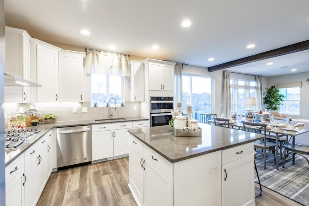 Kitchen featured in the Oquirrh By Fieldstone Homes in Provo-Orem, UT