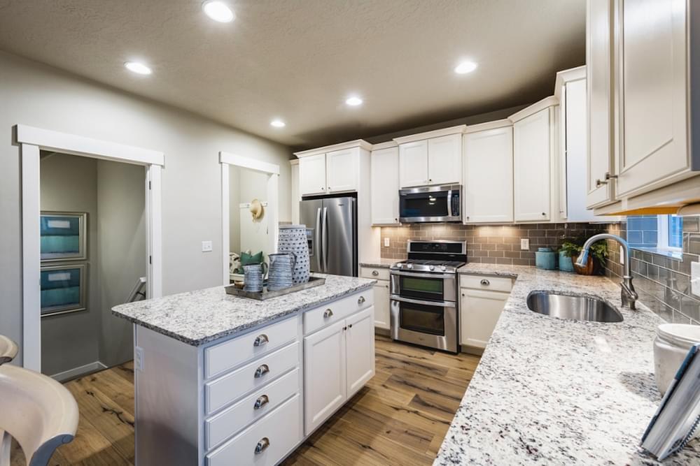 Kitchen featured in the Sierra By Fieldstone Homes in Provo-Orem, UT