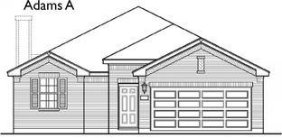 Adams - Pecan Orchard Estates: Dayton, Texas - First America Homes