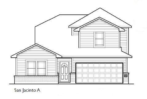 Exterior featured in the San Jacinto By First America Homes in Beaumont, TX