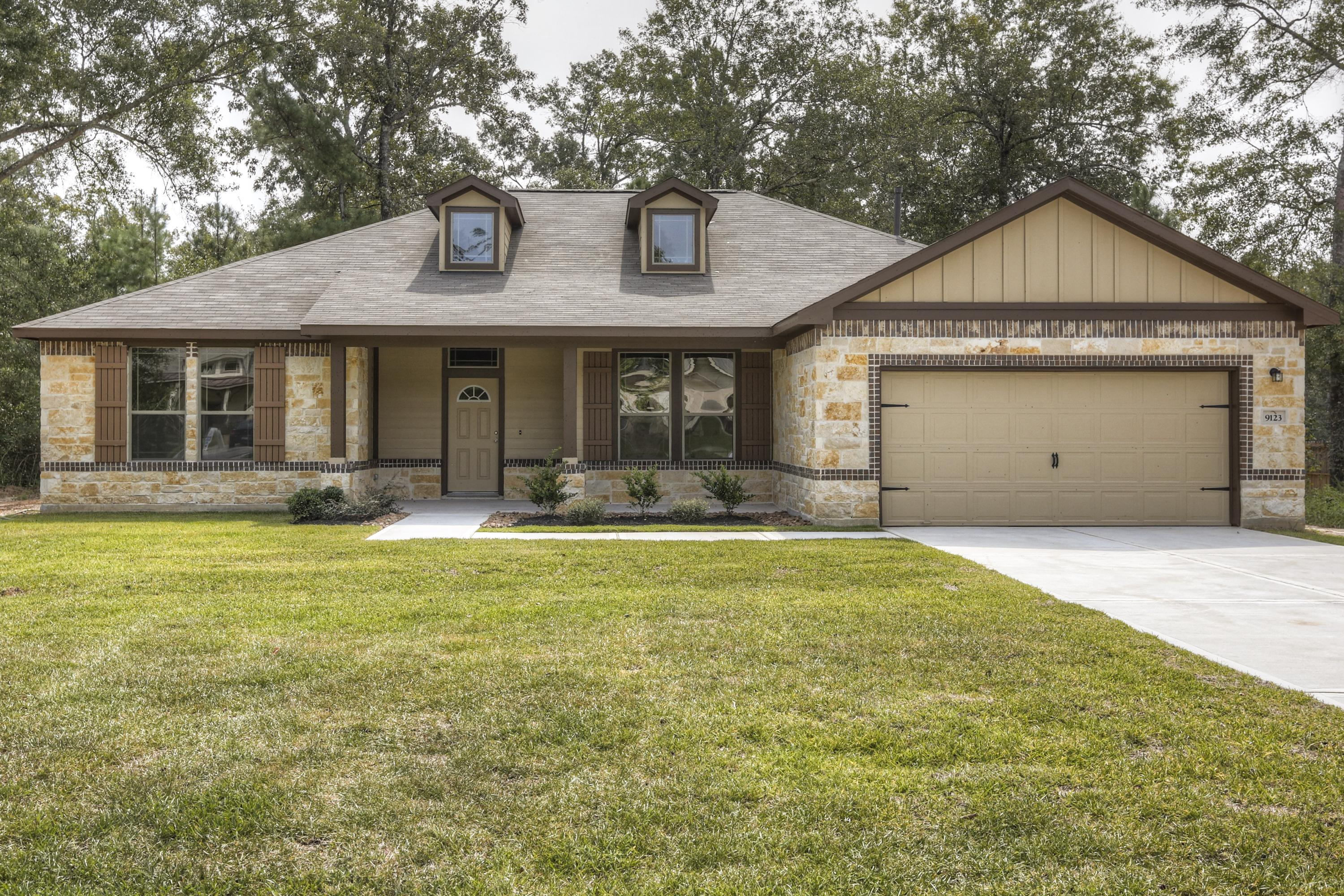 Exterior featured in the Rushmore By First America Homes in Beaumont, TX