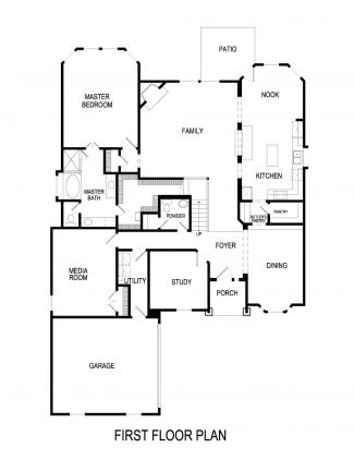 Seville Floor Plan First Texas Homes on large courtyard designs