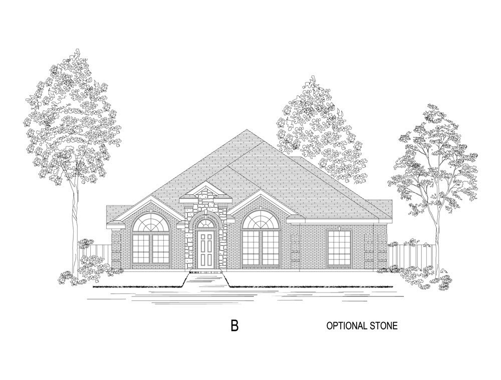 Bradbury R Home Plan By First Texas Homes In Hickory Creek
