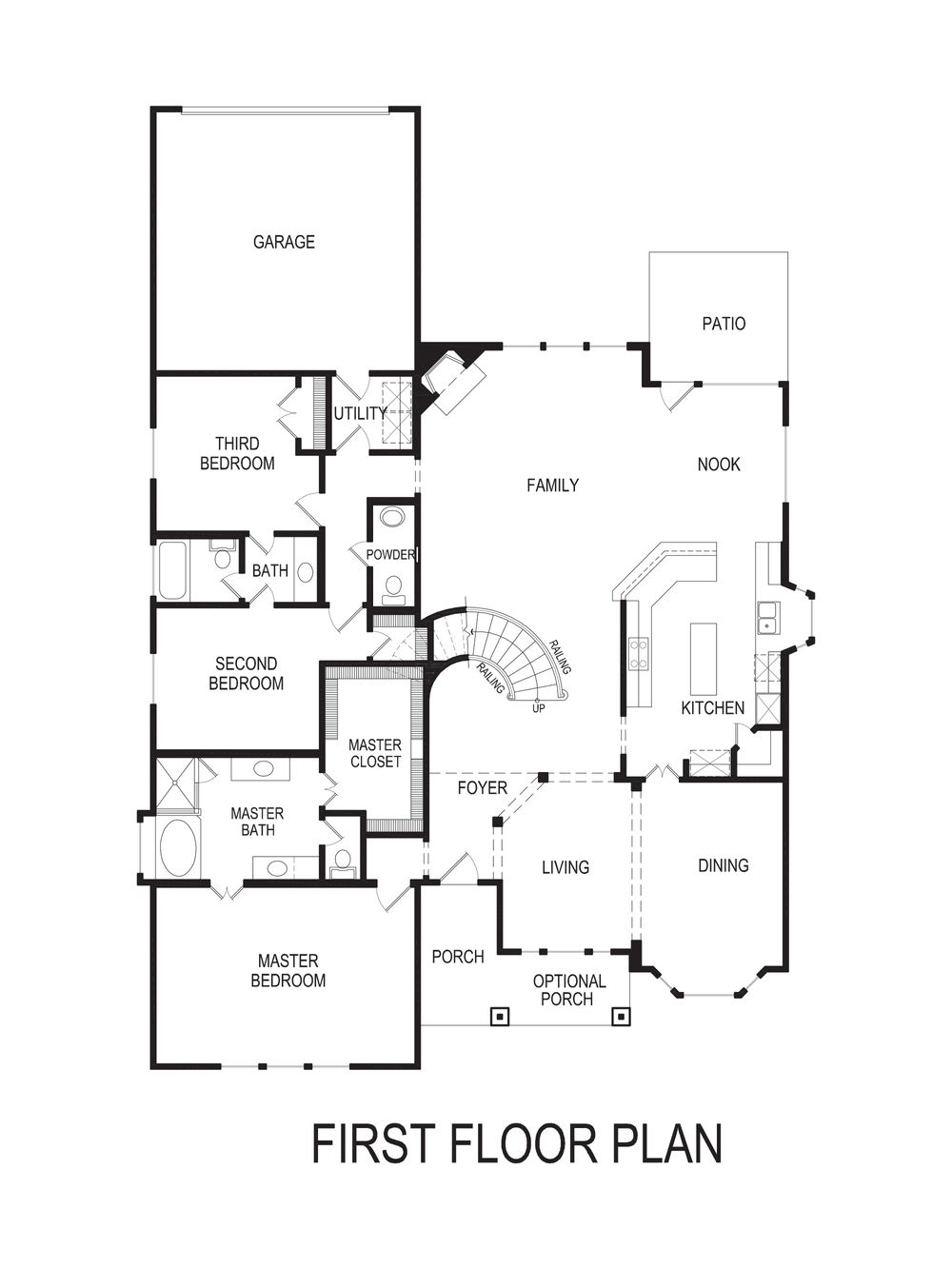 brenton r standard home plan by gallery custom homes in