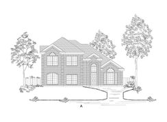 Brittany 44 FSW - Estates of Cole Manor: Red Oak, Texas - First Texas Homes