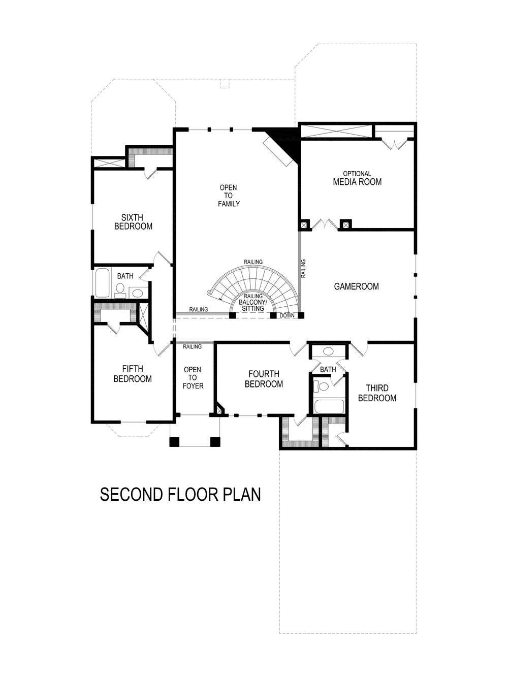 crestwood fsw home plan by first texas homes in hawkins meadows