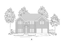 60' Stonehaven F @ LF - La Frontera: Fort Worth, Texas - First Texas Homes