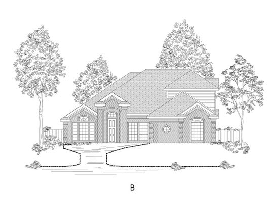 Hilton FSW Plan, Wylie, Texas 75098