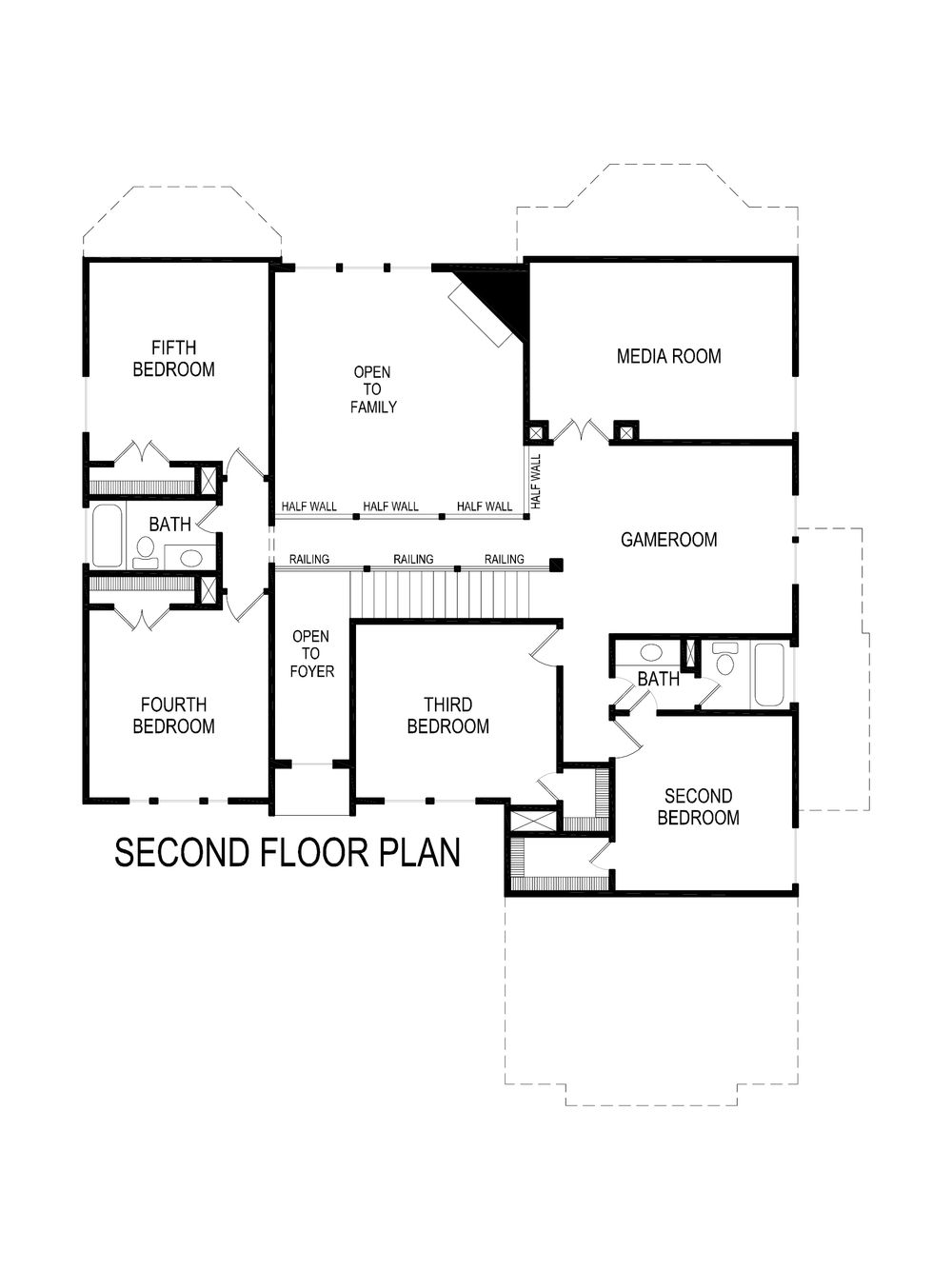 riverstone ii fsw  w  media  home plan by first texas homes in creeks of legacy