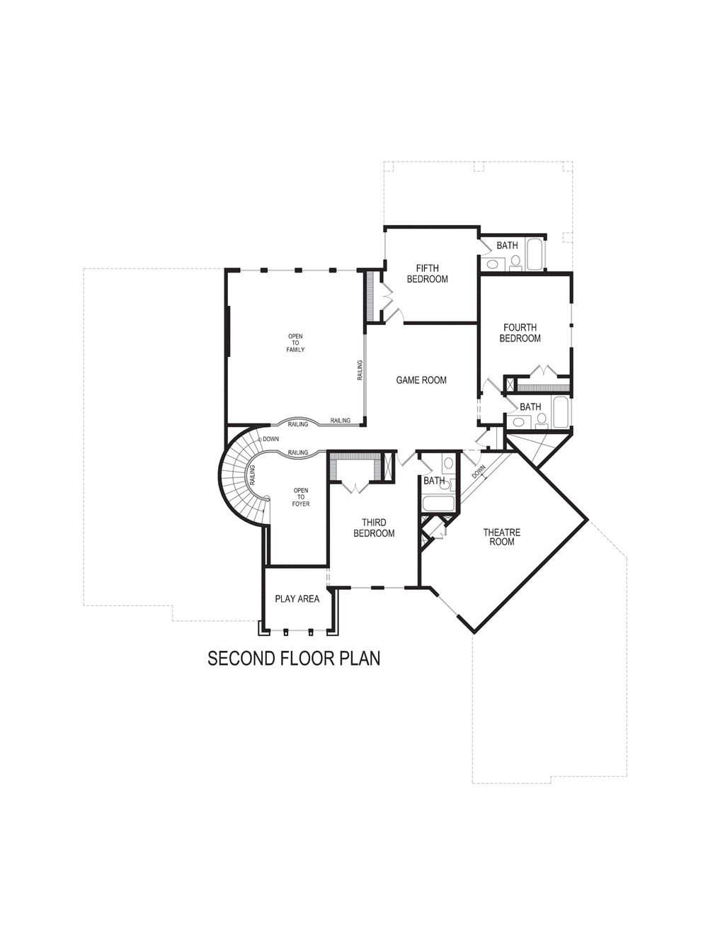 rosewood fsw home plan by gallery custom homes in lakes of la cima