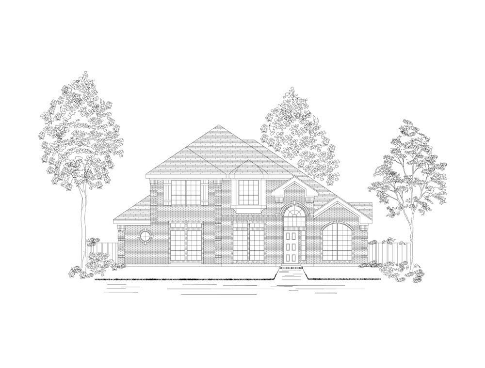Bradford Fs Home Plan By First Texas Homes In The Vineyard