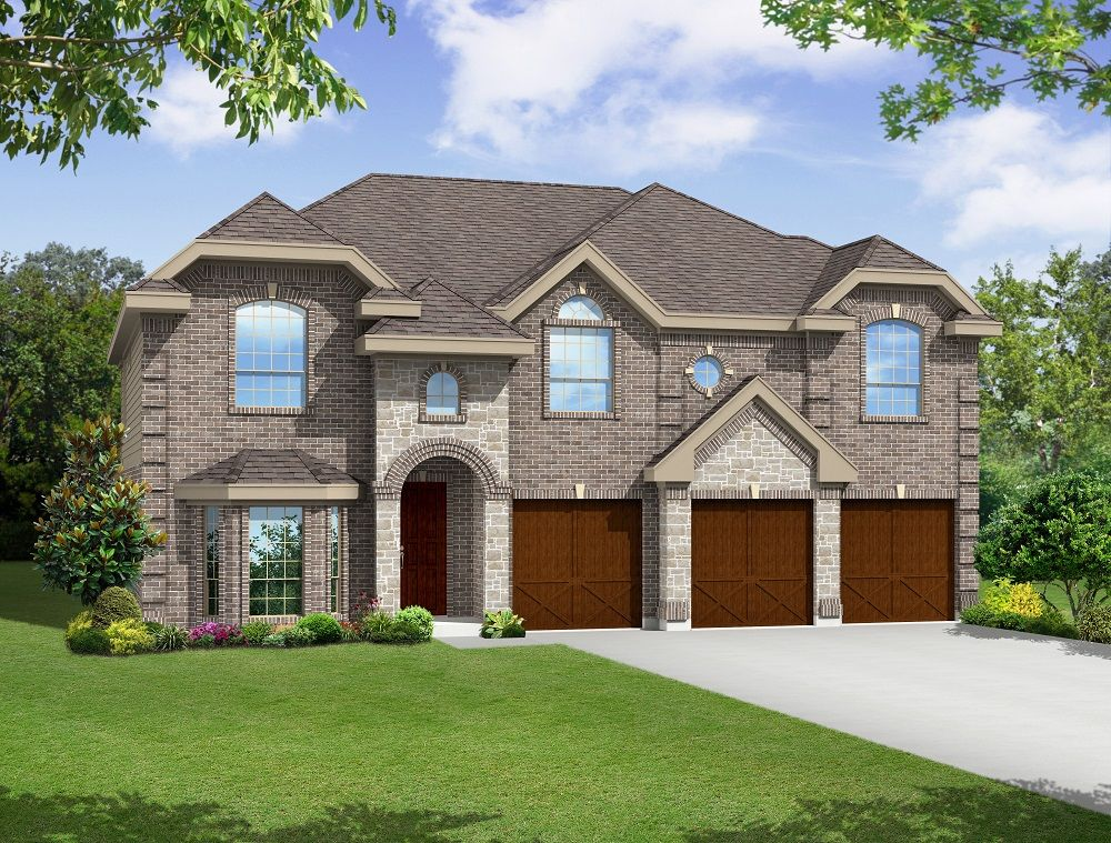 Exterior featured in the Boston F (w/Media) By First Texas Homes in Dallas, TX