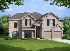 60' Brentwood II F (w/Media) @ LF - La Frontera: Fort Worth, Texas - First Texas Homes
