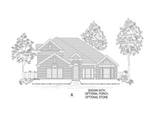 Brenton R (w/Optional 2nd Floor) - Heron's Bay Estates: Garland, Texas - Gallery Custom Homes