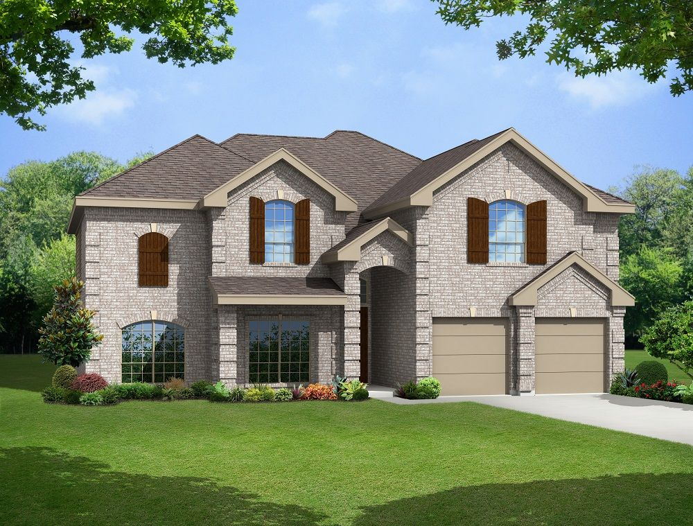 Brentwood Ii F Home Plan By First Texas Homes In Creeks Of