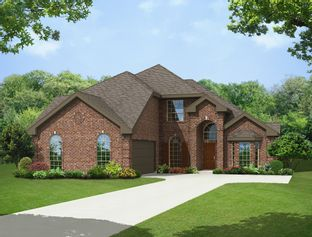 Brighton II FSW - The Homestead at Ownsby Farms: Celina, Texas - First Texas Homes