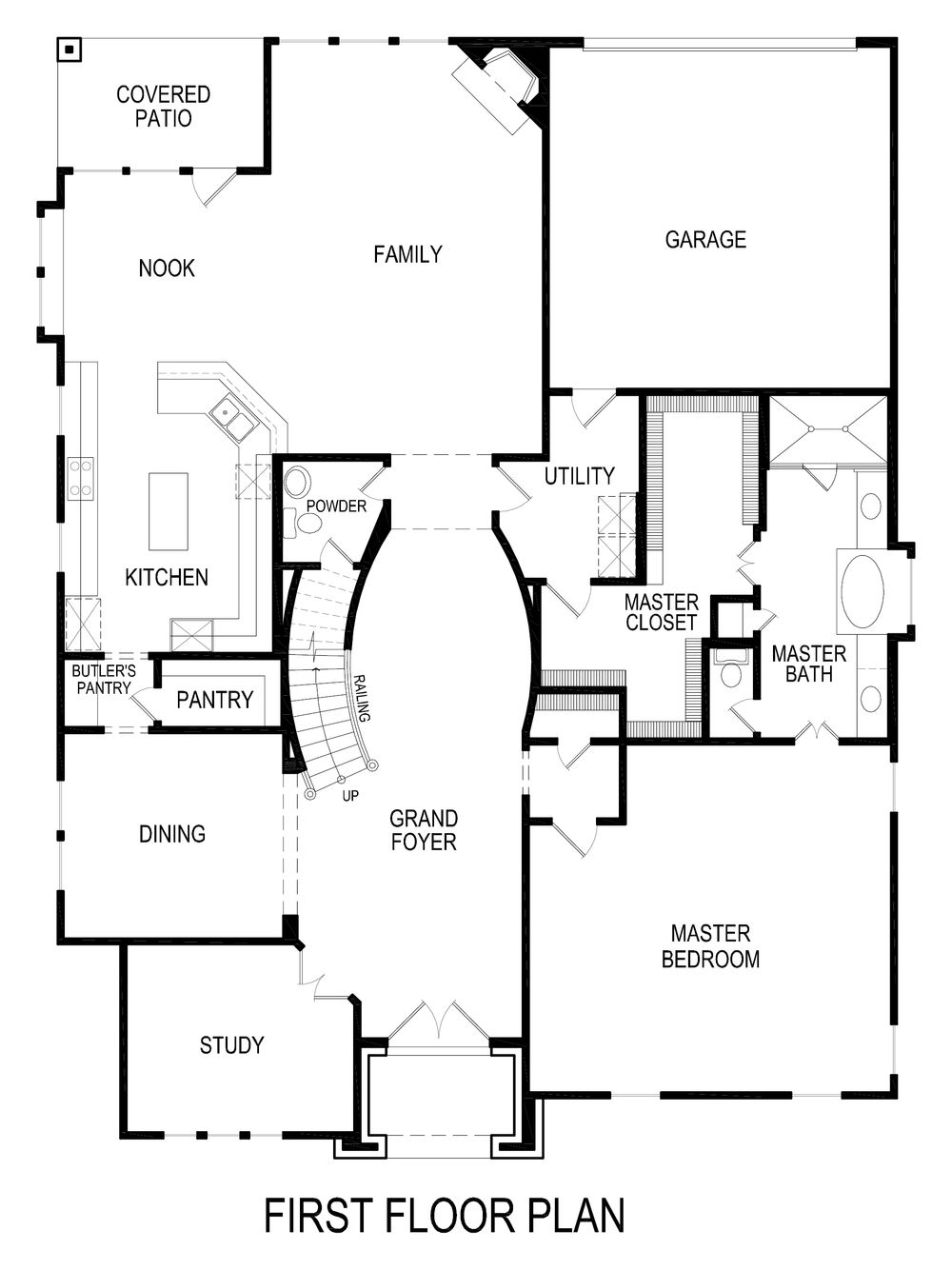 Emerald R (w/Media) Home Plan by First Texas Homes in