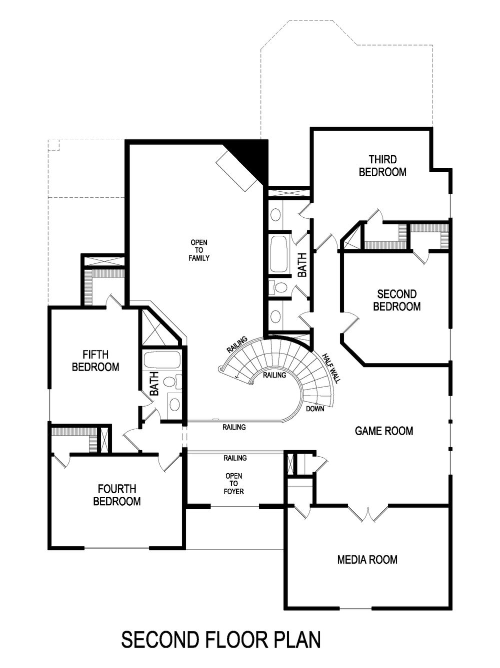 monticello f  w  media  home plan by first texas homes in llano springs