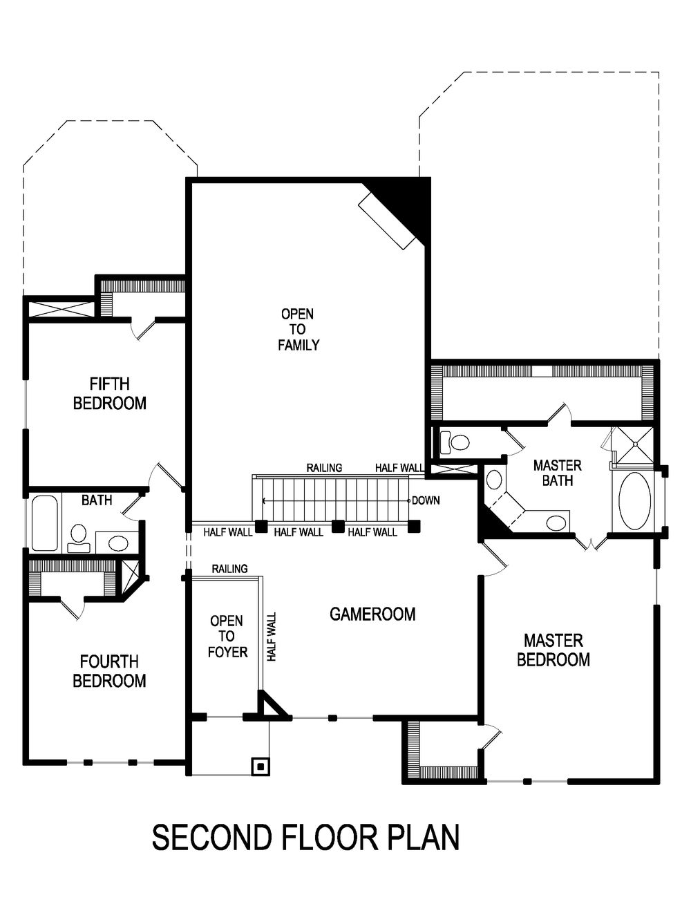 Newport F Home Plan by First Texas Homes in Llano Springs