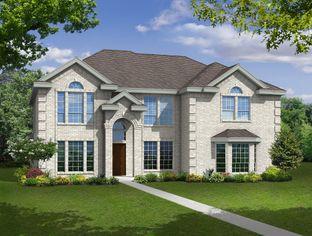 Regency R - Garden Valley Meadows: Waxahachie, Texas - First Texas Homes