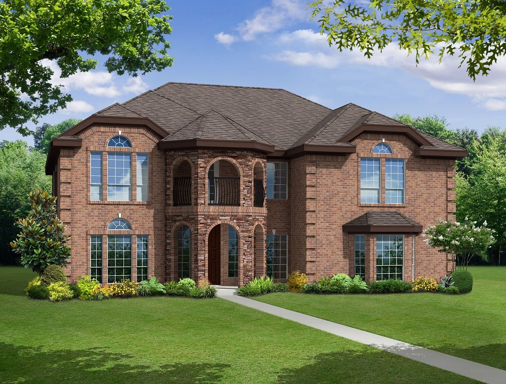 Exterior featured in the Regency R By First Texas Homes in Dallas, TX