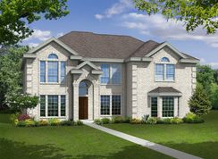 Stonehaven FS - Estates of Cole Manor: Red Oak, Texas - First Texas Homes