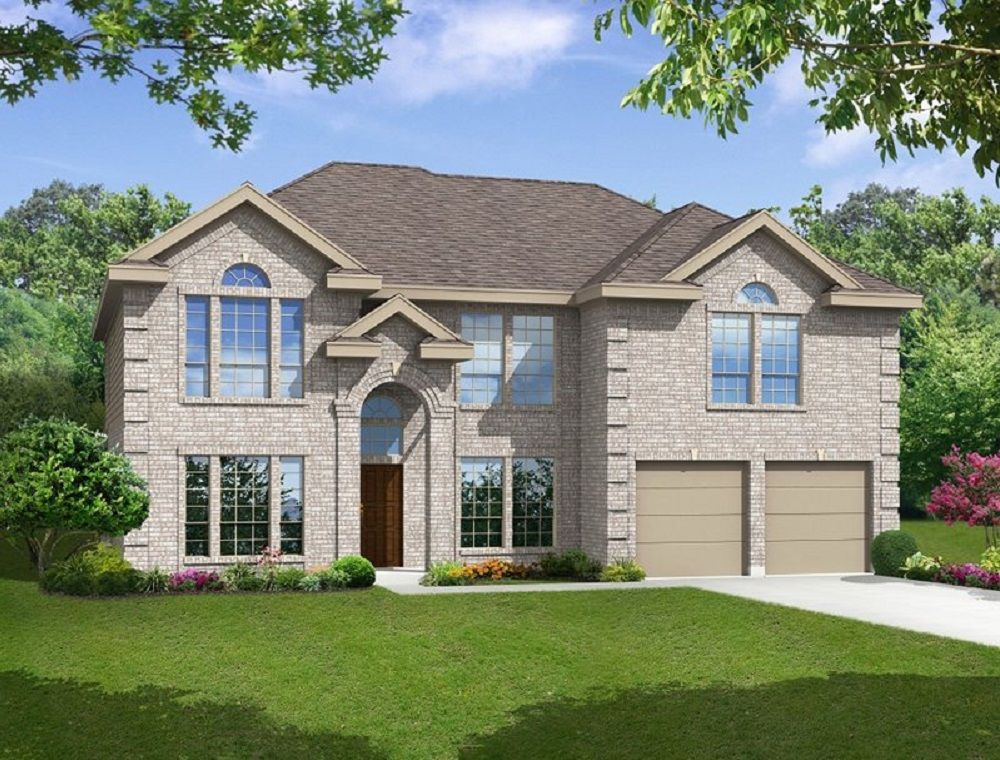 Exterior featured in the Regency F By First Texas Homes in Dallas, TX