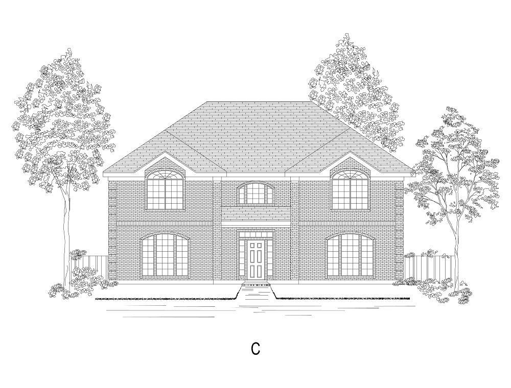 Exterior featured in the Preston R By First Texas Homes in Dallas, TX