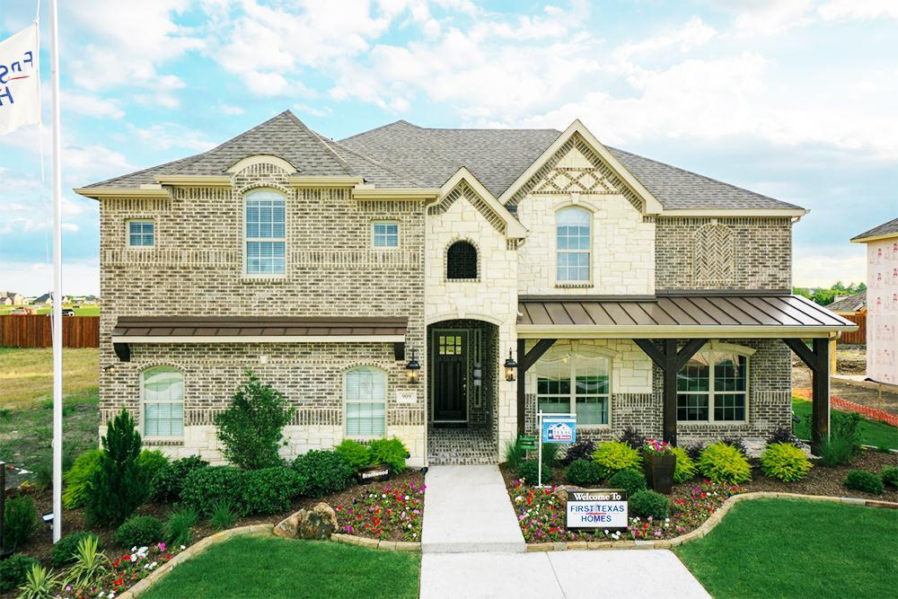 Grayhawk Addition In Forney Tx By First Texas Homes