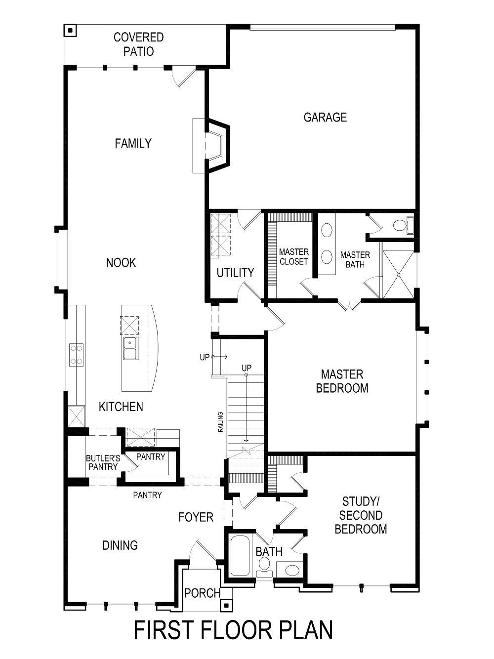 Kincaid R (w/Game) Home Plan by First Texas Homes in