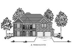 Remington F (w/Media) - Falls of Prosper: Prosper, Texas - Harwood Homes