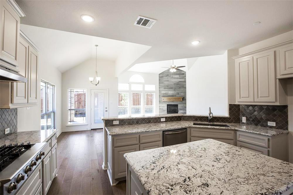 Kitchen featured in the Brentwood II FS (w/Media) By First Texas Homes in Dallas, TX