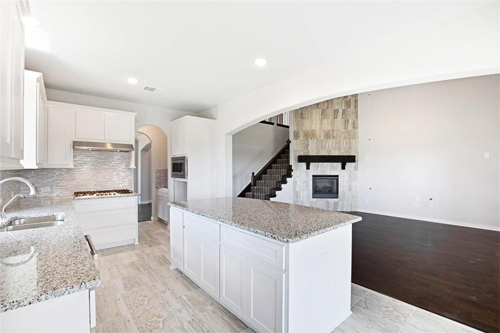 Kitchen featured in the Poplar R By First Texas Homes in Dallas, TX