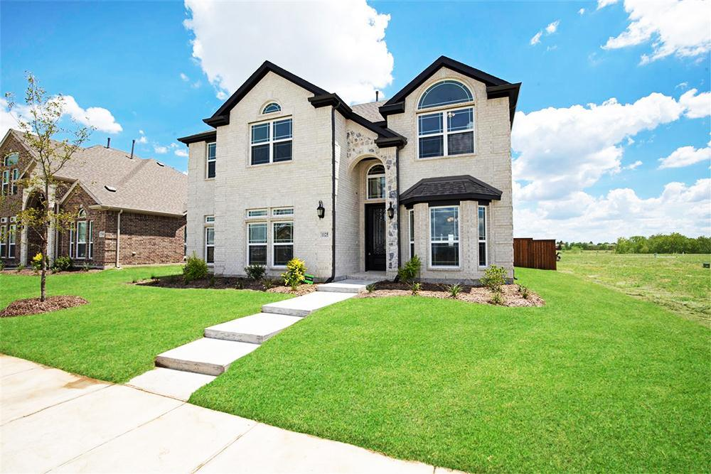 Exterior featured in the Poplar R By First Texas Homes in Dallas, TX