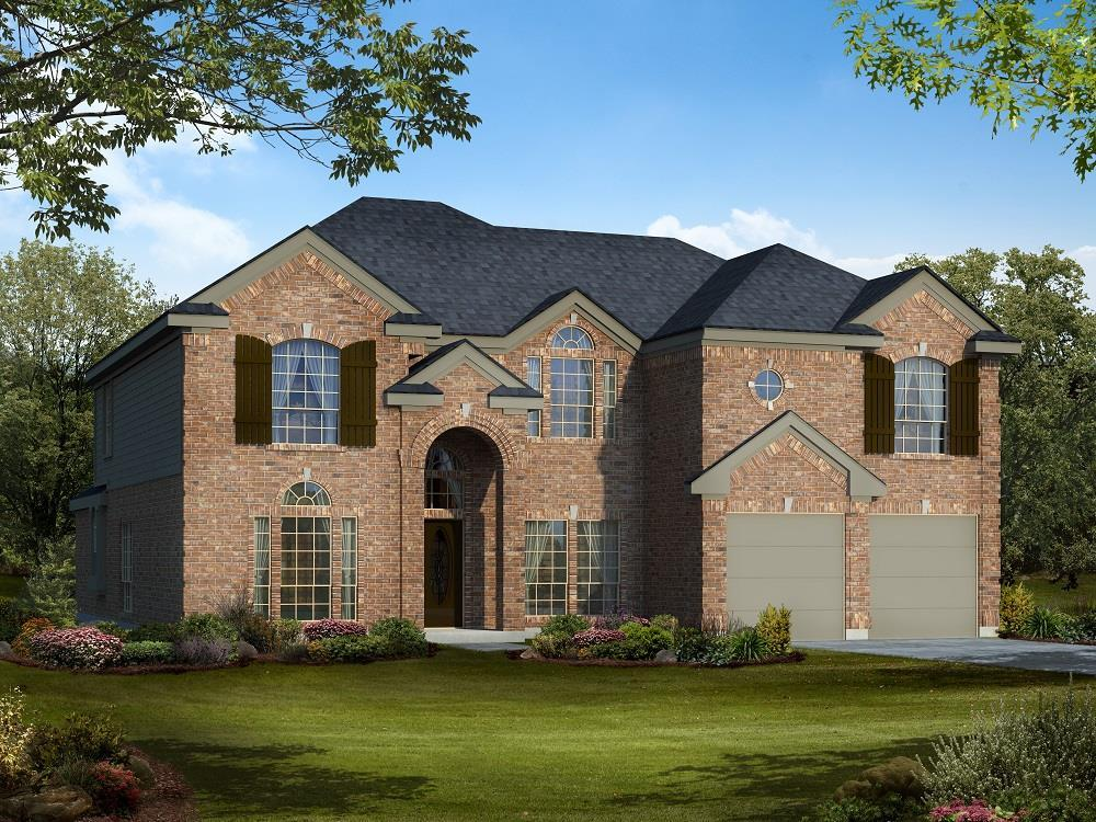 Exterior featured in the Maverick F (w/Media) By Gallery Custom Homes in Dallas, TX