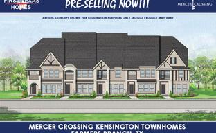Mercer Crossing – Kensington Townhomes by First Texas Homes in Dallas Texas