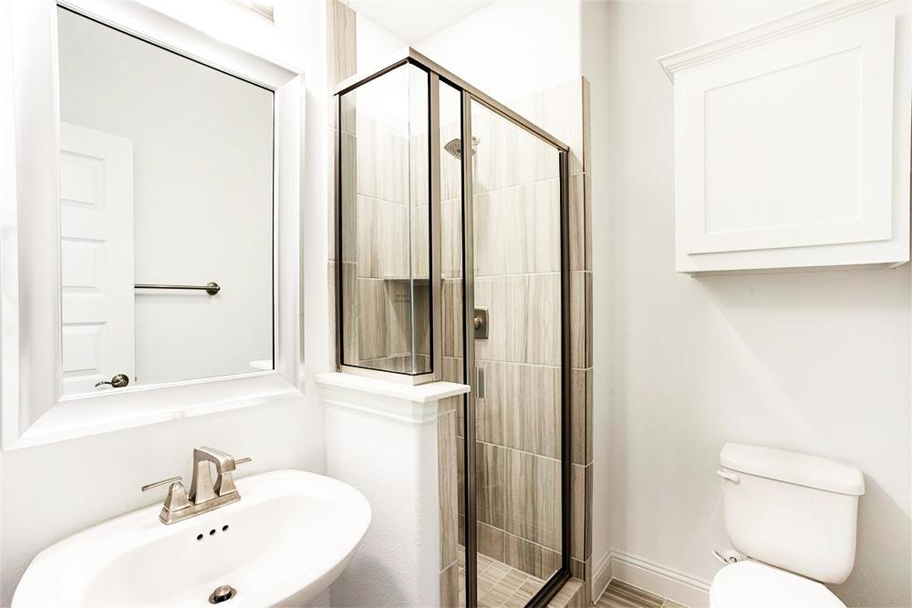 Bathroom featured in the Hillcrest F (w/Media) By First Texas Homes in Dallas, TX
