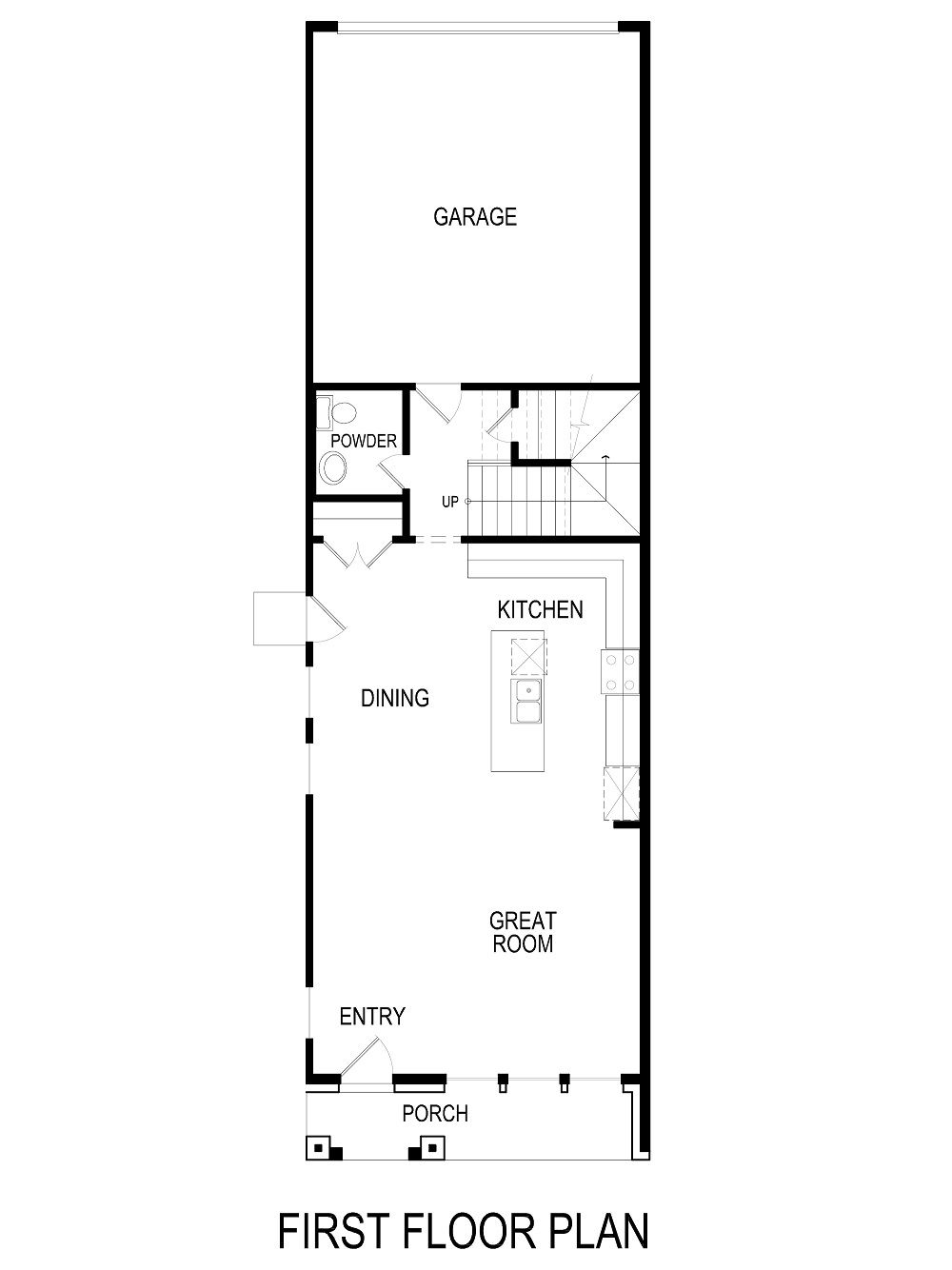 Acacia-TH Home Plan by First Texas Homes in Mercer