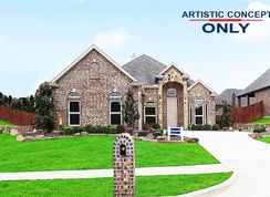 Waterford II FSW - Wellspring Estates: Celina, Texas - First Texas Homes