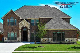 75' Riverstone II FSW (w/Media) @ LF - La Frontera: Fort Worth, Texas - First Texas Homes